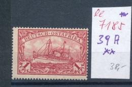 DOA - Nr. 39 A  **   (ee7185  ) Siehe Scan - Kolonie: Deutsch-Ostafrika