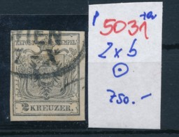 Österreich  -Nr. 2 Yb  O  -geändert       (p5031  ) Siehe Scan - 1850-1918 Empire