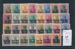 DP.-Besetzungen  Lot  .............  (oo6532  ) Siehe Scan - Occupation 1914-18