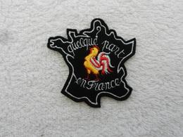 Insigne Badge Tissu France - Quelque Part En France - Patches