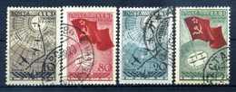 1938 URSS SET USATO - Usati