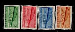 Europa Sympathieausgaben Jahr 1948 Jugoslawien 548 - 551 Donau-Konferenz MNH Neuf ** Postfrisch - Gemeinschaftsausgaben