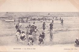 CPA - OSTENDE - Les Bains De Mer - Mouscron - Moeskroen