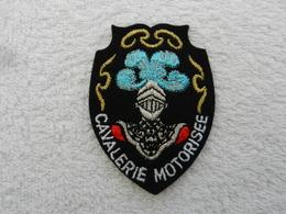 Insigne Badge Militaire Tissu France Cavalerie Motorisée - Patches