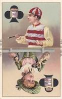 LIEBIG 8 Chromos Diverses ,,serie Sur Jeu De Carte ,, PIQUE,COEUR,CARREAUX,TREFLES - Liebig