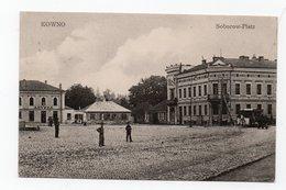 Kovno. Kowno. Kaunas. Cathedral Square. - Lithuania