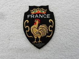 Insigne Badge Militaire Tissu France - Coq - Patches