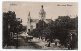 Kovno. Kowno. Kaunas. Governor's Garden. - Lithuania