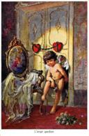 [DC7935] CPA - L'ANGE GARDIEN - L'ANGELO CUSTODE - Non Viaggiata - Old Postcard - Angeli