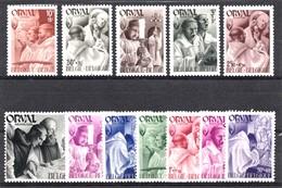 Belqique 1941  Mi.nr.: 553-564 Wiederaufbaau Der Abtei Orval  Neuf Sans Charniere /MNH / Postfris - Unused Stamps