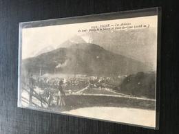 73 Ugine 1918 Les Acieries Ouvriere  Pointe De La Sellive Dent De Cons 2eme Compagnie - Autres Communes