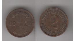 2TENTENPFENNIG 1924 A - [ 4] 1933-1945 : Third Reich