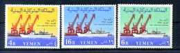 1961 YEMEN SET MNH ** - Yemen