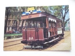 "Mixed TRAMCAR "" California - Nr. 346 "" In Brussels ( VETRAMU / AMUTRA - 19 ) Anno 19?? ( Voir Photo ) ! - Tramways"