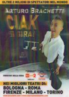 [DC7989] CPM - ARTURO BRACHETTI - CIAK SI GIRA! - CARTOLINA TRIDIMENSIONALE - Non Viaggiata - Old Postcard - Cabaret