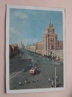 Moskou / Moscou ( 18028 ) Anno 1957 ( Voir Photo ) ! - Russie
