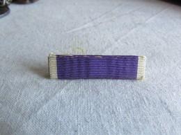 WW1 US Soldier's Purple Heart Ribbon / Pin - 1914-18