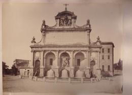 ROMA. FONTANA PAOLA. VAN LINT ENRICO PHOTOGRAPHIE ALBUMINEE CIRCA 1868 ALBUMINA SIZE 33x24cm-BLEUP - Photographs