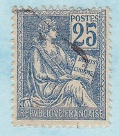 France Année 1900-1901 Type Mouchon  Type I N° 114 (o) Lot 867 - 1900-02 Mouchon