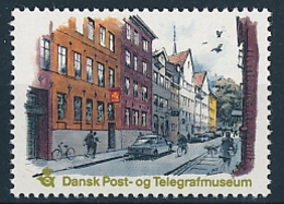 Cinderella MNH ** / Dansk Post- Og Telegrafmuseum / Postal Telegraph Museum - Denmark