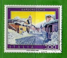 Italia °- 1983 -  TURISTICA BARDONECCHIA   Unif. 1655.  Vedi Descrizione - 6. 1946-.. Republik