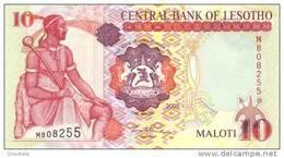 LESOTHO P. 15c  10 M  2005  UNC - Lesoto