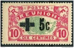 Reunion (1915) N 80 * (charniere) - Réunion (1852-1975)