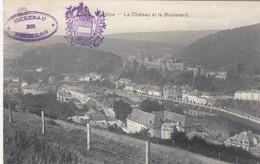 BOUILLON / LE CHATEAU ET LE BOULEVARD / CACHETS DU CHATEAU  1921 - Bouillon