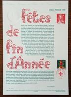 COLLECTION HISTORIQUE - YT N°3199 - CROIX ROUGE - 1998 - FDC