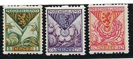 Yvert N° 162a/164a Lichte Klever Zie De 2 Scans , Met Keurmerk  / Afwijkende Tanding - Period 1891-1948 (Wilhelmina)