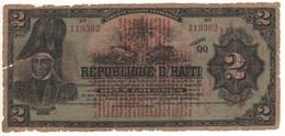 HAITI   2 Gourdes   P141a    1913 - Haiti