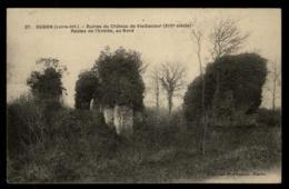 44 - Oudon - Ancenis - Ruine Du Château Vieillecour Nord #09634 - Oudon