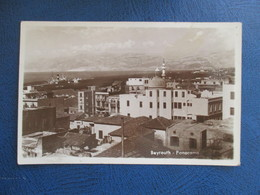 CPA PHOTO LIBAN BEYROUTH PANORAMA - Lebanon