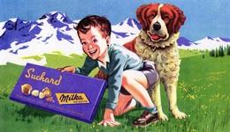 MILKA SUCHARD BUVARD CHOCOLAT - Chocolat