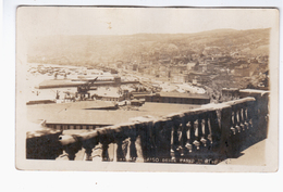 CHILE Valparaiso Panorama 1929 OLD PHOTO POSTCARD 2 Scans - Cile