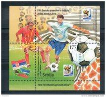 Serbie. Bloc Feuillet. Coupe Du Monde 2010 - Serbie