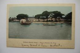 CPA AFRIQUE GAMBIE BATHURST. Maison MAUREL Et H. PROM. Firm Of MAUREL Et H. PROM. 09/12/1911. - Gambie