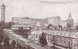 AM20 General View Of Crystal Palace And Canadian Building - Exhibitions
