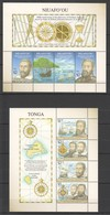 P768 2016 NIUAFO'OU 400TH ANNIVERSARY OF THE DISCOVERY NORTHERN TONGA SHIPS 2KB MNH - Barcos