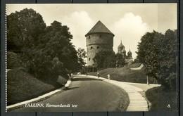 Estland Estonia Ca 1920 Reval Tallinn Komandandi Tee Commandants Way Sauber Unbenutzt Unused - Estonie