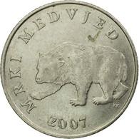 Monnaie, Croatie, 5 Kuna, 2007, TTB, Copper-Nickel-Zinc, KM:11 - Croatie