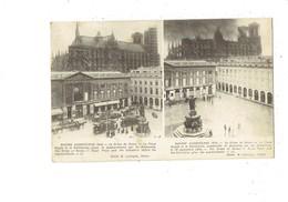 Cpa - 51 - Guerre 1914 - Le Crime De REIMS Cathédrale Travaux échafaudage Avant Après Bombardement Tramway - Reims