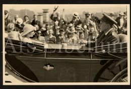 Postcard / ROYALTY / Belgique / België / Roi Leopold III / Koning Leopold III / Concours Des Chevaux / Heysel / 1937 - Beroemde Personen