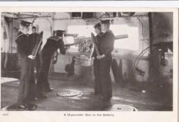 AN69 Royal Navy Postcard - A 12 Pounder Gun In The Battery - Warships