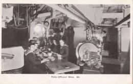AN69 Royal Navy Postcard - Petty Officers' Mess - Warships