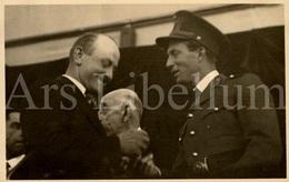 Postcard / ROYALTY / Belgique / België / Roi Leopold III / Koning Leopold III / Concours De Bétail / Heysel / 1937 - Personnages Célèbres