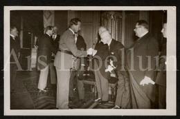 Postcard / ROYALTY / Belgique / België / Roi Leopold III / Koning Leopold III / Séance Académique Médicales / 1937 - Onderwijs, Scholen En Universiteiten