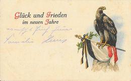 F - Militaria, Patriotische Kriegsgedenk Postkarte Serie 116 - Glück Und Frieden Im Neuen Jahre (Aigle, Meilleurs Voeux) - Patriottisch
