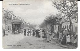 Cpa Lorient - Avenue De Merville . - Lorient