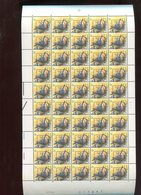 Belgie 2294 H3 PREO PRE826 Buzin Volledig Vel FULL SHEET Vogels Birds Oiseaux MNH Plaatnummer 1 20/7/1989 RR - 1985-.. Oiseaux (Buzin)